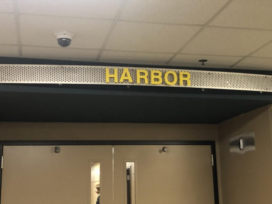 The+Harbor+is+the+Southeast+Polk+High+School+alternative+school.++Students+attending+it+enter+through+this+door+each+day.++Alyssa+Williams+photo.+%0A