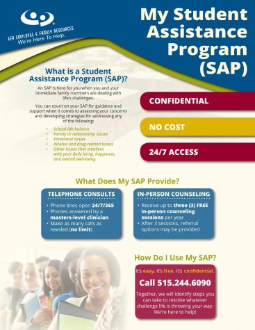 Student Assistance Program information courtesy southeastpolk.org.