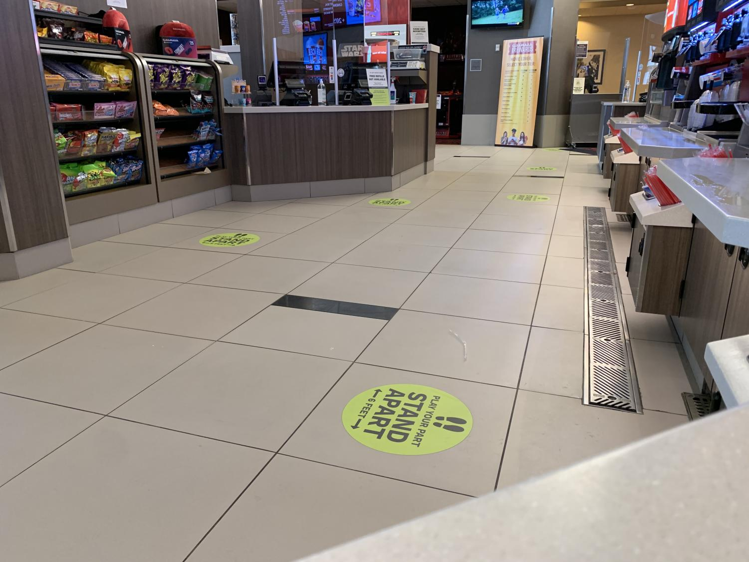 Movie Theaters Adapt to COVID Change