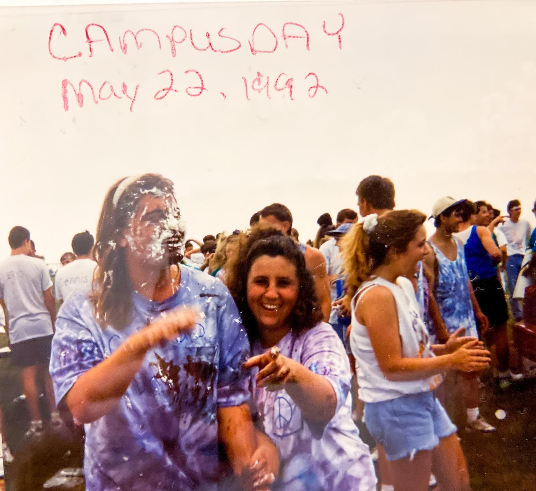 Student campus day. Photo courtesy Jenny Crawford.