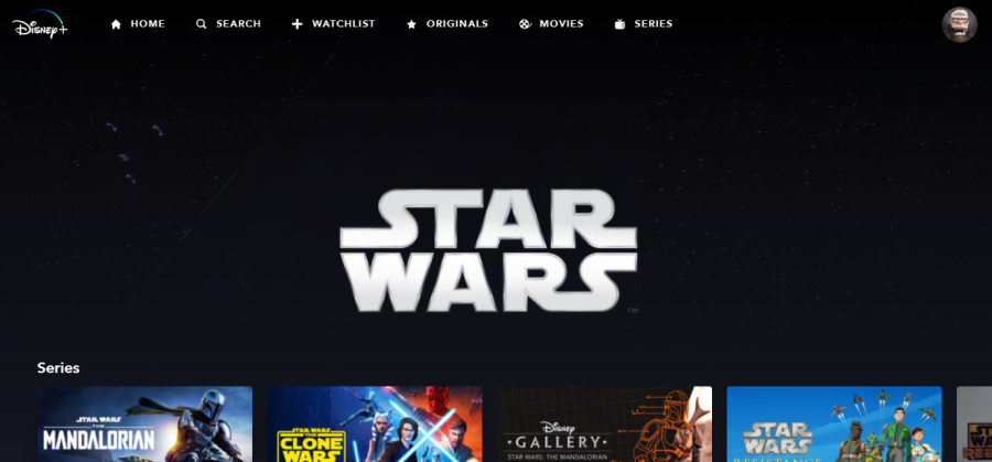 You can access [almost] all of the Star Wars content listed on Disney+. Cayden Johnson photo.