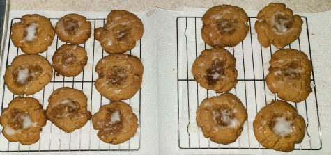 The finished coffee cake cookies. Abby VanHorn photo.